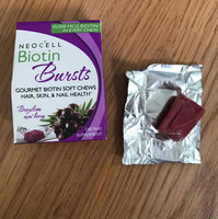 NeoCell Biotin Bursts Gourmet Biotin Soft Chews, Brazilian Acai Berry, 30 ea uploaded by Jackie A.