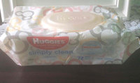 Huggies® Simply Clean Baby Wipes uploaded by Erica H.
