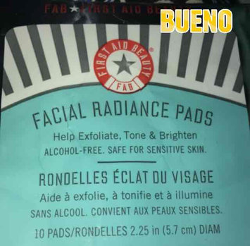 First Aid Beauty Facial Radiance Pads 28 Pads uploaded by Katye M.