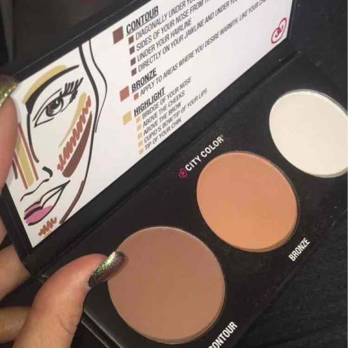City Color Cosmetics Contour Effects Palette uploaded by Bree F.
