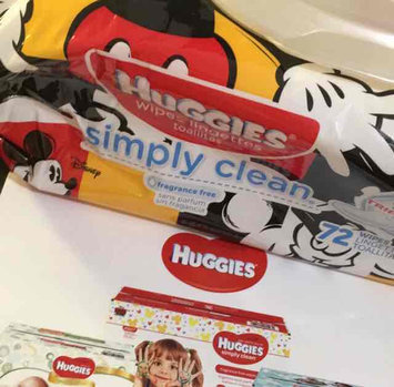 Huggies® Simply Clean Baby Wipes uploaded by Danielle M.
