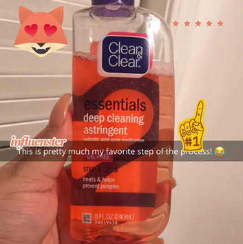 Clean & Clear Essentials Deep Cleaning Astringent uploaded by Ashley Q.