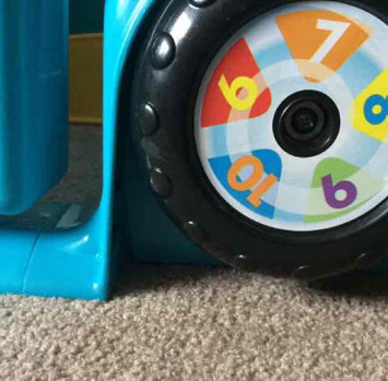 Photo uploaded to LAUGH & LEARN Fisher-Price Laugh & Learn Crawl Around Car, Pink by rana n.