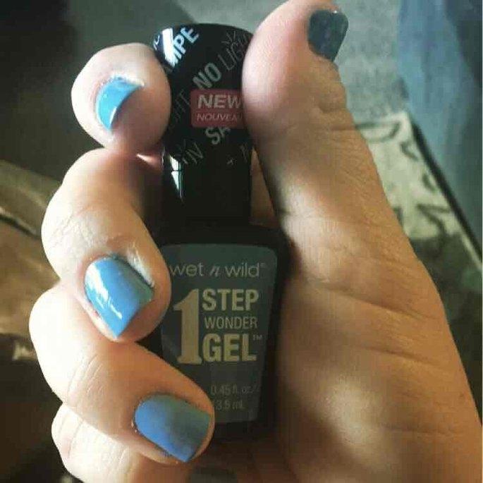 Wet 'n' Wild Wet n Wild 1 Step Wonder Gel Nail Color, Cyantific Method, .45 oz uploaded by Tiffany C.