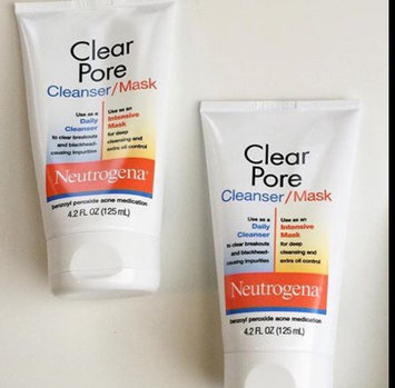 Photo of Neutrogena®  Clear Pore Cleanser/Mask uploaded by Aliesh A.