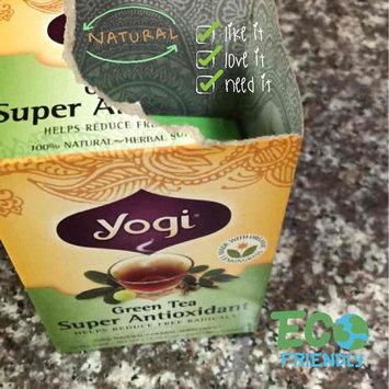 Photo uploaded to Yogi Tea Green Tea Super Antioxidant by Michele M.