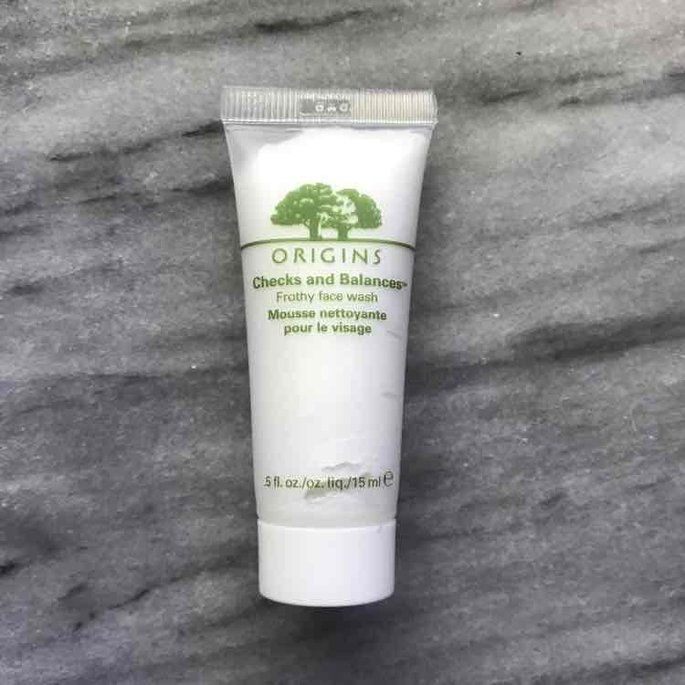Receive a Free Full Size Checks and Balances Face Wash with any $65 Origins purchase uploaded by Samantha C.