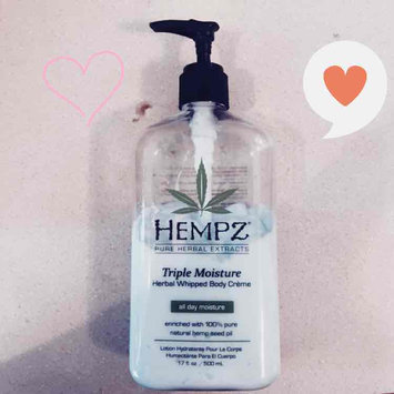 Photo of Hempz Triple Moisture Herbal Whipped Body Crème uploaded by Lisa A.