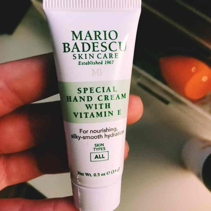 Mario Badescu Special Hand Cream with Vitamin E uploaded by Kailee S.