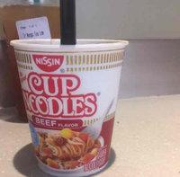 Nissin Cup Noodles Beef Ramen Noodle Soup uploaded by Nena S.