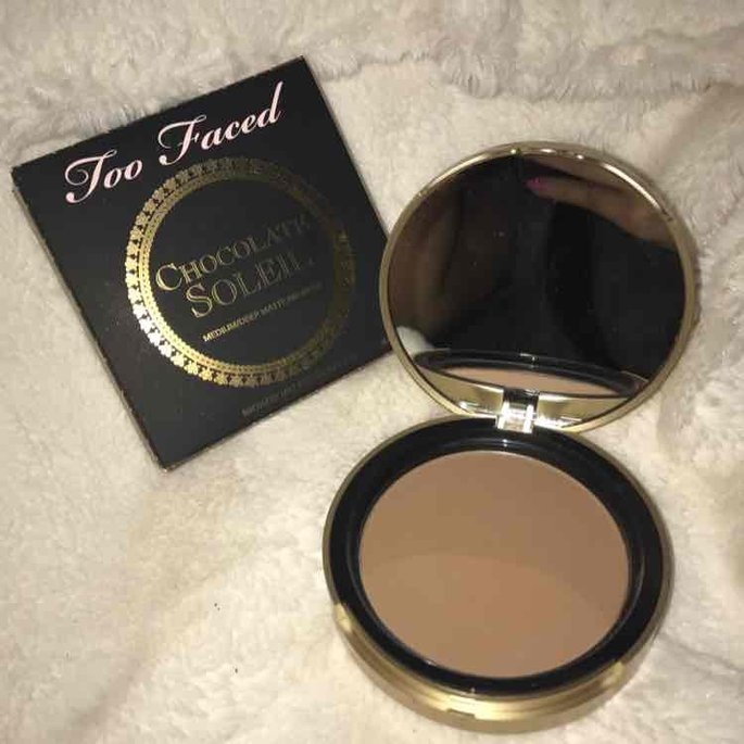 Too Faced Chocolate Soleil Bronzing Powder uploaded by Kaleen P.