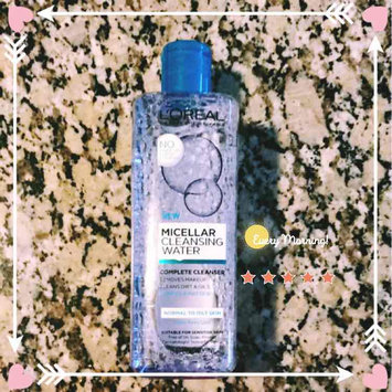 L'Oreal Paris Micellar Cleansing Water for Normal to Oily Skin 13.5 fl. oz. Bottle uploaded by Marissa D.