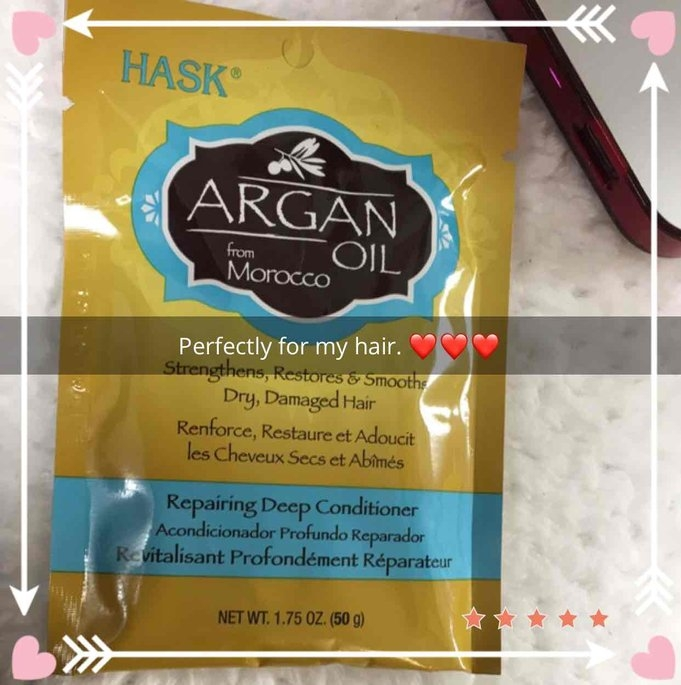 Hask Argan Oil Intense Deep Conditioning Hair Treatment uploaded by Olay
