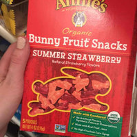 Annie's® Homegrown Summer Strawberry Organic Bunny Fruit  Snacks uploaded by Taylor A.