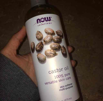 NOW Foods Solutions Castor Oil - 16 fl oz uploaded by Hafsa K.