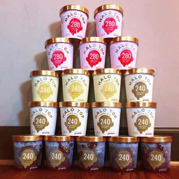 Photo of Halo Top Strawberry Ice Cream uploaded by Mary J.