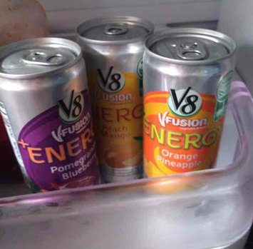 V8 Juice V8 V-Fusion Energy Pomegranate Blueberry Vegetable & Fruit Juice 8 oz, uploaded by Dayana S.