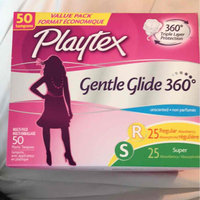 Playtex Gentle Glide Plastic Unscented Multi-Pack Tampons 50-ct. uploaded by Sondra B.