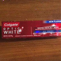 Colgate Optic White Anticavity Fluoride Toothpaste Cool Mint uploaded by Joi H.