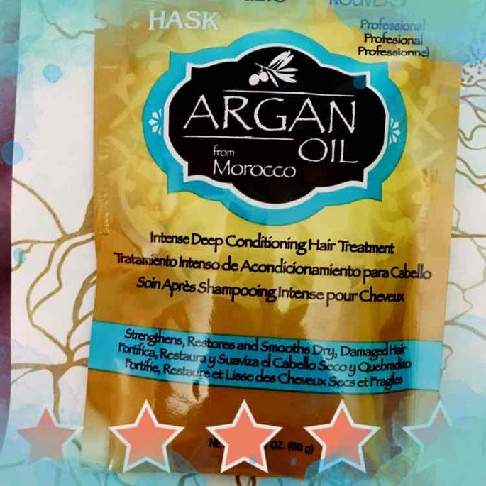 Hask Argan Oil Intense Deep Conditioning Hair Treatment uploaded by Katie S.