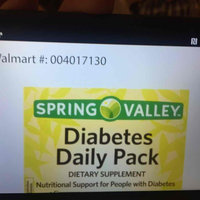 Spring Valley Diabetes Daily Pack Dietary Supplement Packets, 30 count uploaded by Sarai P.