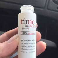philosophy time in a bottle 100% in control eye serum uploaded by Dominique C.