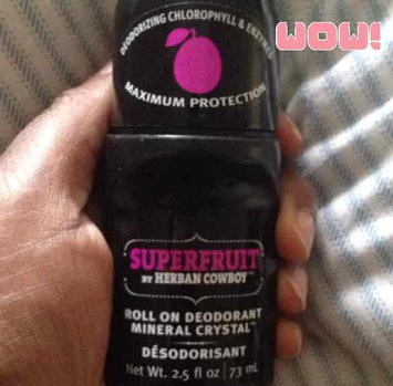 Photo of Herban Cowboy Deodorant - Roll On - Superfruit - 2.5 oz uploaded by Tiff-Nicole M.