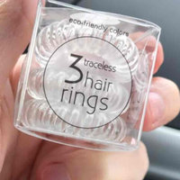 Invisibobble The Traceless Hair Ring Crystal Clear 3 traceless hair rings uploaded by Joanna W.