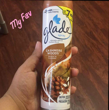 Photo of Glade Cashmere Woods Room Spray uploaded by Masiel H.