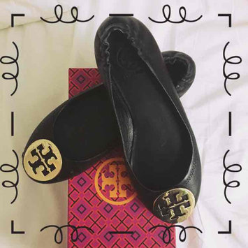 Women's Tory Burch 'Minnie' Travel Ballet Flat, Size 6.5 M - Black uploaded by Veronica M.