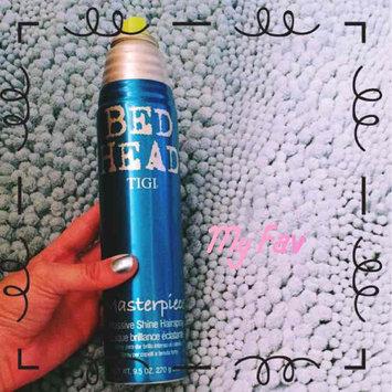 Photo of Bed Head Masterpiece™ Massive Shine Spray uploaded by Natalie B.