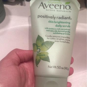 Aveeno Positively Radiant Skin Brightening Daily Scrub uploaded by Sana N.