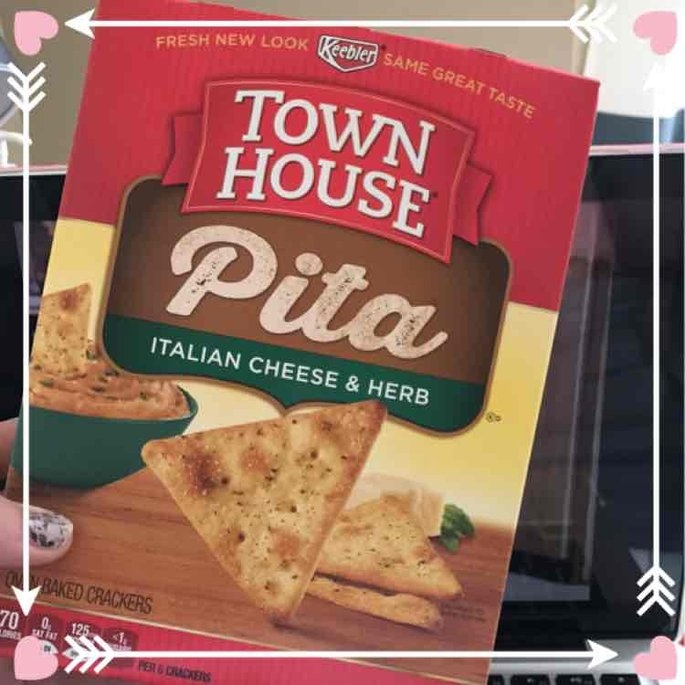 Keebler Town House Oven Baked Crackers Pita Italian Cheese & Herb uploaded by Heidiann H.