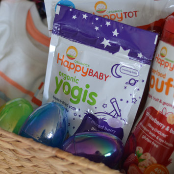 Photo of Happy Baby happyyogis Organic Superfoods Yogurt and Fruit Snacks uploaded by Sarah H.
