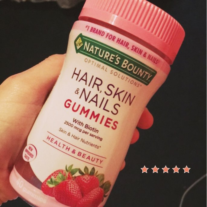 Nature's Bounty Hair, Skin, and Nails Gummies uploaded by Tara A.