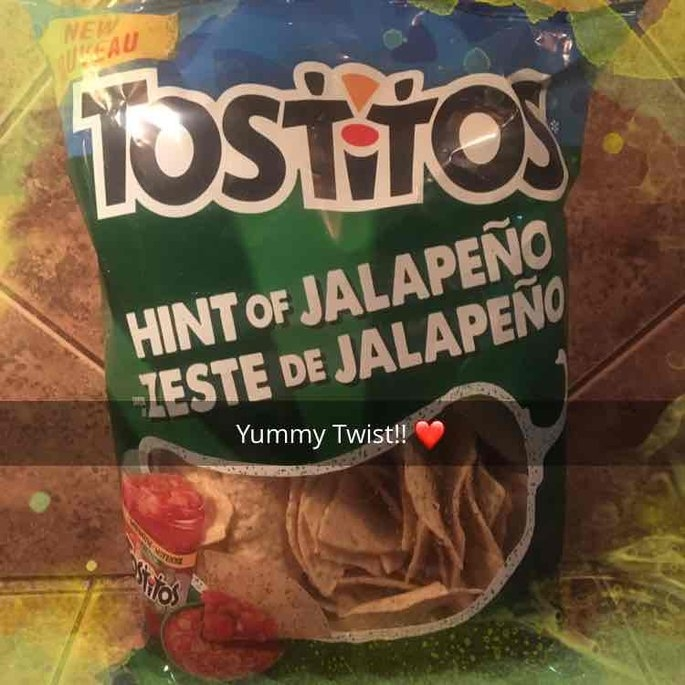 Tostito's Hint Of Jalapeno Flavored Tortilla Chips uploaded by Cheryl M.