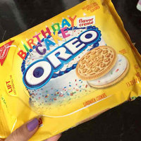 Nabisco Oreo - Sandwich Cookies - Golden Birthday Cake uploaded by Heather I.