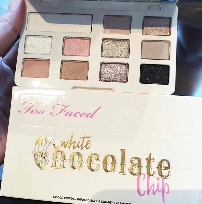 Too Faced White Chocolate Chip Eye Shadow Palette uploaded by Nikki G.