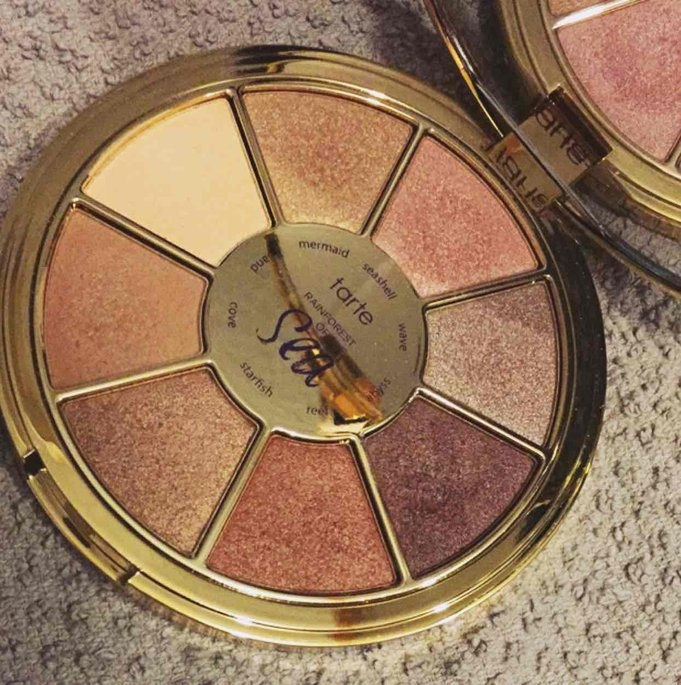 Tarte Rainforest of the Sea™ limited-edition eyeshadow palette - multi uploaded by Taylor B.