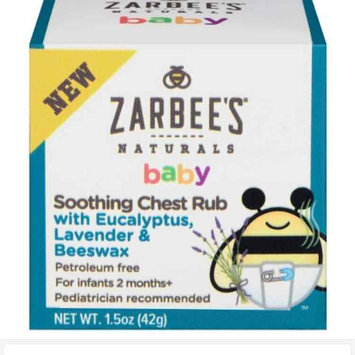 Zarbee's® Naturals Baby Soothing Chest Rub 1.5 oz. Box uploaded by Jocelyne N.
