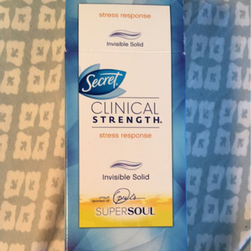 Secret Clinical Strength Smooth Solid Women's Antiperspirant & Deodorant Stress Response uploaded by Rachel M.