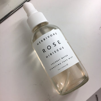 Herbivore Rose Hibiscus Coconut Water Hydrating Face Mist 4 oz uploaded by Maggie P.