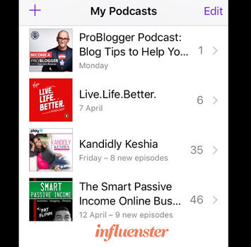 Photo of Apple Podcasts uploaded by Yvonne O.