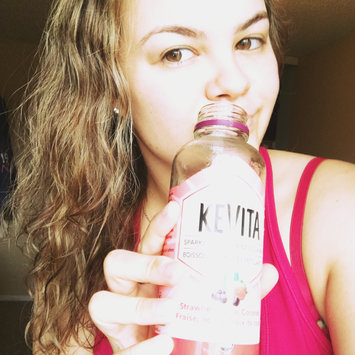 KeVita Delicious Vitality Sparkling Probiotic Drink Strawberry Acai Coconut uploaded by Stephanie S.