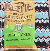 Kettle Brand® Dill Pickle Krinkle Cut Potato Chips uploaded by Kim G.