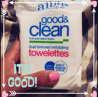 Alba Botanica Good & Clean™ Dual Textured Exfoliating Towelettes uploaded by Jenvelop V.