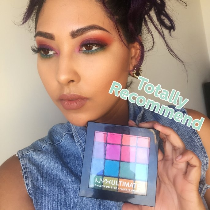 NYX Cosmetics Ultimate Shadow Palette uploaded by Orianna R.