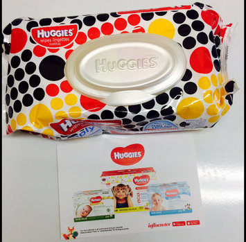 Huggies® Simply Clean Baby Wipes uploaded by Kasey H.