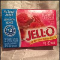 JELL-O Sugar Free Low Calorie Gelatin Dessert Raspberry uploaded by Annie-Pier N.