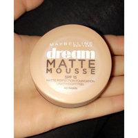 Maybelline Dream Matte® Mousse Foundation SPF 15 uploaded by Sarah K.